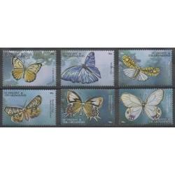 Saint-Vincent - 2001 - No 4177/4182 - Insectes