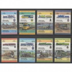 Saint Vincent (Grenadines) - 1984 - Nb 295/310 - Trains