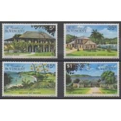 Saint-Vincent (Iles Grenadines) - 1975 - No 56/59 - Tourisme
