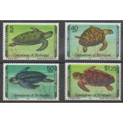 Saint Vincent (Grenadines) - 1978 - Nb 146/149 - Reptils