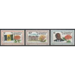 Saint-Vincent (Iles Grenadines) - 1979 - No 172/174 - Histoire