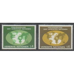 Nations Unies (ONU - Vienne) - 1980 - No 9/10