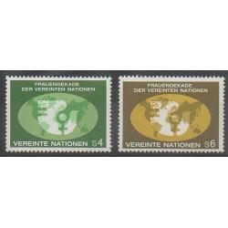 Nations Unies (ONU - Vienne) - 1980 - No 9/10