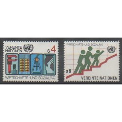 Nations Unies (ONU - Vienne) - 1980 - No 14/15