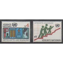 Nations Unies (ONU - Vienne) - 1980 - No 14/15