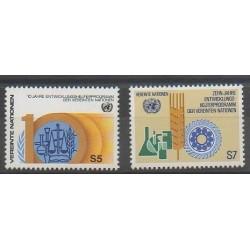 Nations Unies (ONU - Vienne) - 1981 - No 21/22