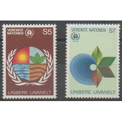 Nations Unies (ONU - Vienne) - 1982 - No 24/25