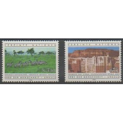 Nations Unies (ONU - Vienne) - 1984 - No 41/42 - Sites