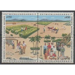 Nations Unies (ONU - Vienne) - 1986 - No 56/59 - Artisanat ou métiers