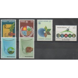 United Nations (UN - Vienna) - Complete Year - 1982 - Nb 23/28