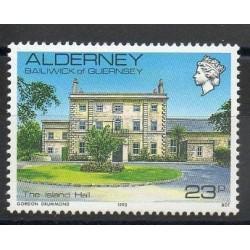 Aurigny (Alderney) - 1992- No 54 - Monuments