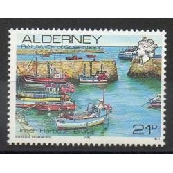 Aurigny (Alderney) - 1991- Nb 48 - Boats