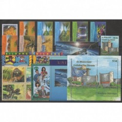 United Nations (UN - Vienna) - Complete Year - 1999 - Nb 296/317 - BF10/BF11