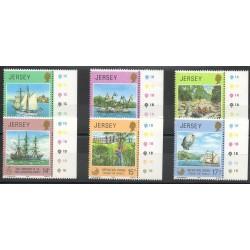 Jersey - 1980- No 222/227 - Bateaux