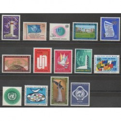 United Nations (UN - Geneva) - Complete Year - 1969 - Nb 1/14