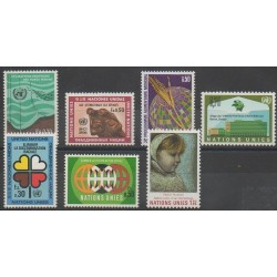 United Nations (UN - Geneva) - Complete Year - 1971 - Nb 15/21