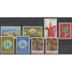 United Nations (UN - Geneva) - Complete Year - 1972 - Nb 22/29