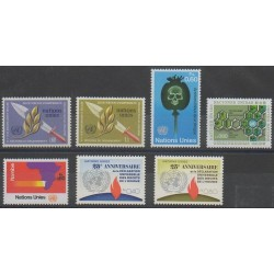United Nations (UN - Geneva) - Complete Year - 1973 - Nb 30/36