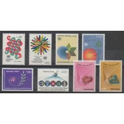 Nations Unies (ONU - Genève) - Année complète - 1982 - No 103/110