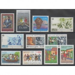 United Nations (UN - Geneva) - Complete Year - 1987 - Nb 151/161