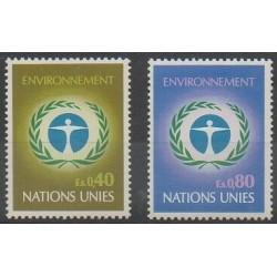 Nations Unies (ONU - Genève) - 1972 - No 25/26 - Environnement