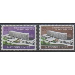 Nations Unies (ONU - Genève) - 1974 - No 37/38