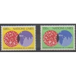 Nations Unies (ONU - Genève) - 1978 - No 73/74 - Santé ou Croix-Rouge