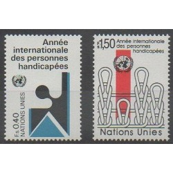 United Nations (UN - Geneva) - 1981 - Nb 97/98