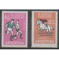 Argentine - 1963 - No 671/672 - Sports divers