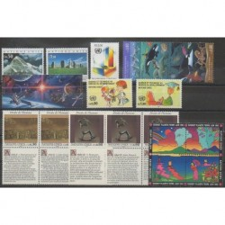 United Nations (UN - Geneva) - Complete Year - 1992 - Nb 222/240