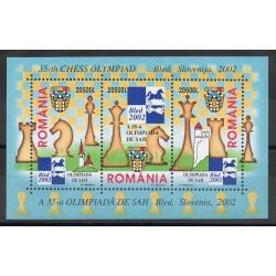 Romania - 2002- Nb BF 264 - Chess
