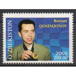 Stamps - Theme chess - Uzbekistan - 2005- Nb 523