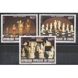 Congo (Republic of) - 1983- Nb 698/700 - Chess