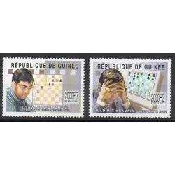 Guinée - 2002- No 2177/2178 - Echecs