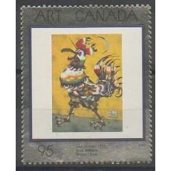 Canada - 1999 - Nb 1667 - Paintings