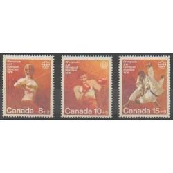 Canada - 1975 - Nb 576/578 - Summer Olympics