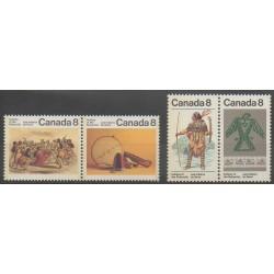 Canada - 1975 - Nb 561/564