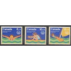 Canada - 1975 - Nb 556/558 - Summer Olympics