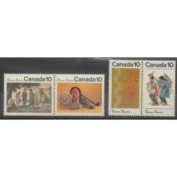 Canada - 1976 - Nb 611/614