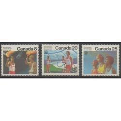 Canada - 1976 - Nb 604/606 - Summer Olympics