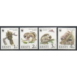 Estonia - 1994- Nb 241/244 - Animals