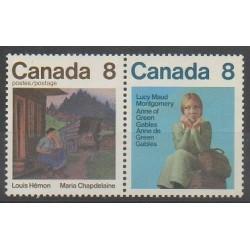Canada - 1975 - Nb 565/566 - Literature