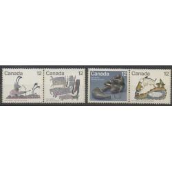 Canada - 1977 - Nb 646/649 - Art