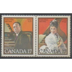 Canada - 1980 - Nb 739/740 - Music