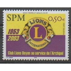 Saint-Pierre et Miquelon - 2003 - No 808 - Rotary ou Lions club