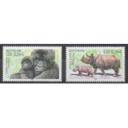 Allemagne - 2001- No 2014/2015 - Animaux