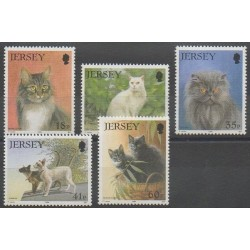 Jersey - 1994 - Nb 639/643 - Cats