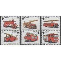 Jersey - 2001 - No 994/999 - Pompiers