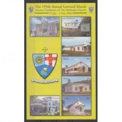 Nevis - 2001 - No 1498A/1498G - Églises