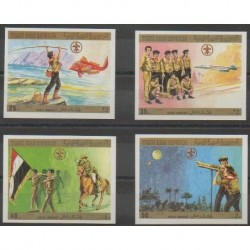Yemen - Arab Republic - 1980 - Nb 328/331ND - Scouts